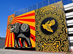 15 Massive Street Art Murals Around the World My Modern Metropolis #hollywood #obey