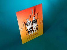 #poster #gigposter #die #cut