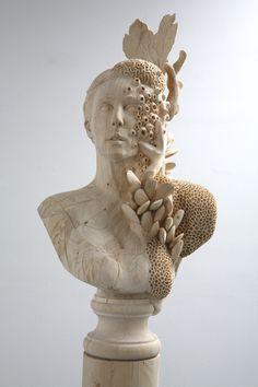 Wood Sculpture by Morgan Herrin #inspiration #abstract #creative #design #unique #sculptures #cool