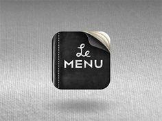 shot_1285652118.png (400×300) #inspiration #icon #menu #iphone #app