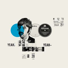 The Beatles. Revolution 9 on Behance #beatles #collage