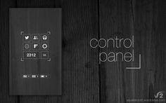 Control Panel by ~justanormalman on deviantART #minimal #interface #homescreen #lockscreen #ui