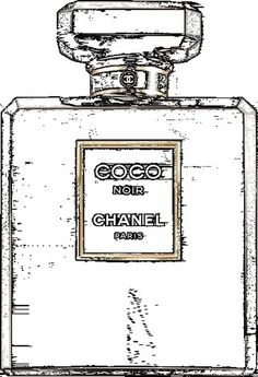 COCO NOIR THROUGH BLACK . . . LIGHT REVEALED #chanel #gif