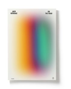 book cover gradient minimal