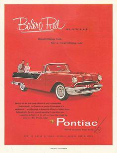pontiac bolero #print #vintage #advertising