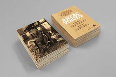 ANZAC Voices #wood #invitation