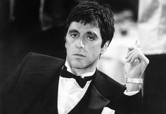 The 25 Most Stylish Criminals in Movies: Style: GQ #pacino #tony #al #scarface #montana
