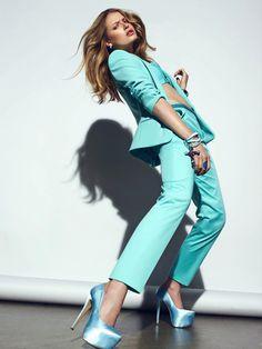Erika Palkovicov by Henrik Adamsen for Plaza Magazine #fashion #model #photography #girl