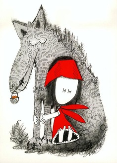Illustrations for Little Red Riding Hood