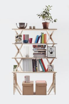 Modular Shelving on Behance #modular