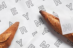 Mayer Boulangerie Identity - Mindsparkle Mag Forma & Co designed the identity for Mayer Boulangerie. #logo #packaging #identity #branding #design #color #photography #graphic #design #gallery #blog #project #mindsparkle #mag #beautiful #portfolio #designer