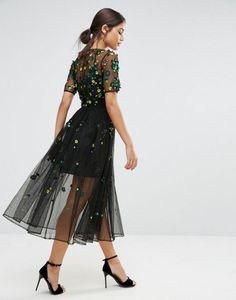 ASOS Embellished Smock Dress