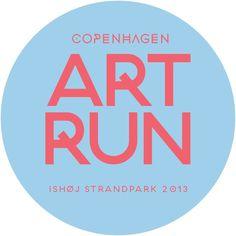 Visual identity and concept for Art Run #visual identity #graphic design