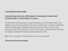 Screenprinting