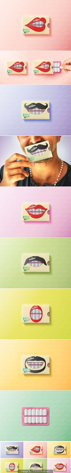 Trident Gum (Concept) #packaging #gum