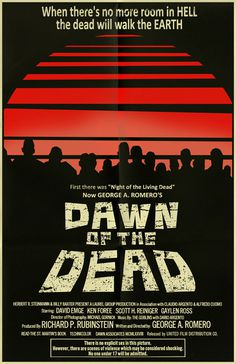 Dawn of the Dead poster by ~markwelser on deviantART #movie #horror #poster