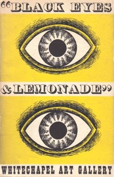 Tate Blog | Stories from and about the four Tate galleries | Page 17 #gallery #lemonade #whitechapel #and #eyes #1951 #black #illustration #poster #art