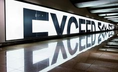 BMW: How To Exceed The Maximum #advertising #reflection #typography