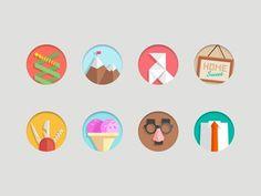 Flat Icons #flat