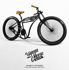 Gallery | The Bacon & Cheese Machine #machine #cheese #dudes #mcbess #the #bike #and #bacon #factory
