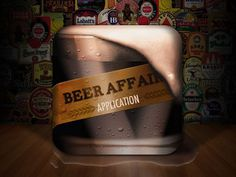 Chase Uvodich #beer #icon #ui #app #affair