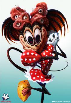 Minnie - by DanLuVisiArt on deviantART #luvisi #disney #dan #minni
