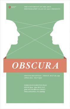 John Helmuth   Portfolio #green #flyer #poster #face #obscura