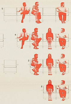 1972: 620 Chair Programme poster by Wolfgang Schmidt