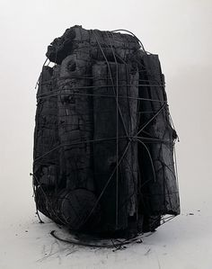 Enjoying This #wood #sculpture #burnt