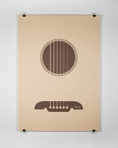 Guitar #guitar #design #graphic #minimal #poster