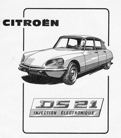 All sizes | Citroën's DS 21 injection | Flickr - Photo Sharing! #citroen #print #auto #type #car