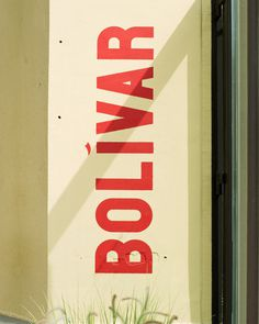 Bolivar on Behance #lettering #typography #heydays #type #bolivar