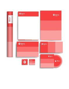 Tetris - Brand & Visual Identity on Behance #marca #isometric #branding #perspective #mockup #tetris #brand #identity #architecture #stationery #logo
