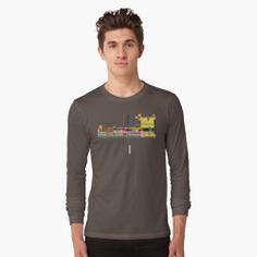 City Scape 4 Long Sleeve T-Shirt