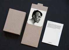 Stationery for photographer Giles Duley designed by Shaz Madani