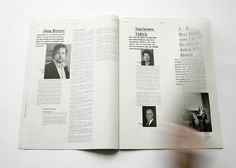 johannafloeter #white #magazin #newspaper #black #layout