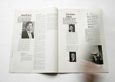 johannafloeter #white #magazin #newspaper #black #layout