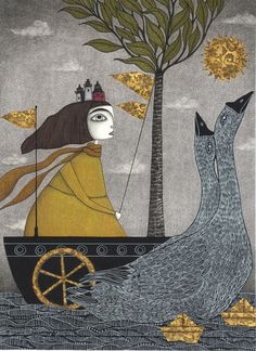 Judith Clay #illustration