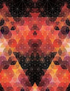andy gilmore #geometry #andy gilmore #warm colors