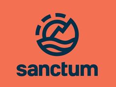 Sanctum #mark #line #logo #custom #type #circular