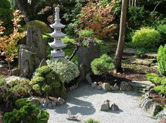 Japanese garden in Jarków, Lower Silesian Voivodship, Poland / www.homeworlddesign.com #garden #japanese