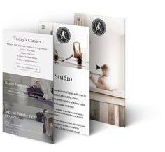 Freestyle Yoga Project responsive website design and development, by Redspa http://redspa.uk