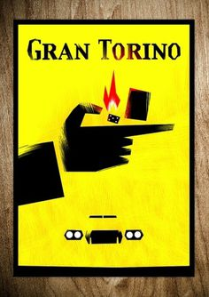 GRAN TORINO - Rocco Malatesta Posters & Prints #gran #movie #torino #malatesta #graphic #rocco #illustration #poster