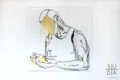 Mateusz Suda #suda #model #polish #white #mateusz #minimalistic #homo #muscl #men #gay #art #gold #poland #minimal #artist