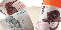 Wine, packaging, illustration, bottle