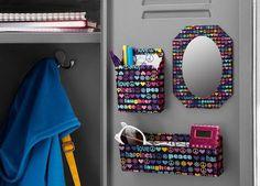 Colorful Locker Decoration #design #makeup #decor #locker #decoration