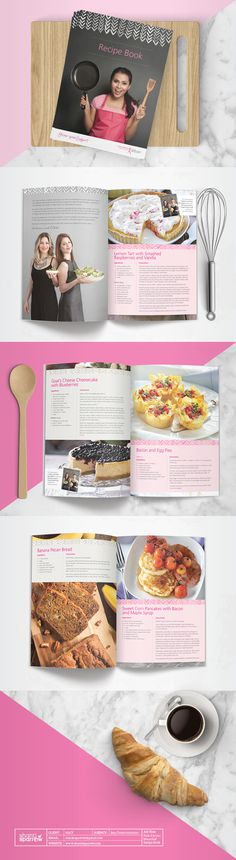 Design by Shanti Sparrow Client: NBCF Project Name: Recipe Book www.shantisparrow.com #Design #graphicdesign #illustration #recipebook #rec