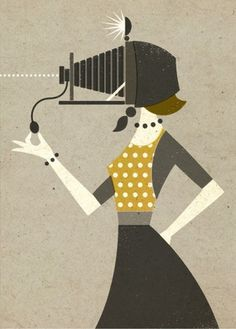 wink at creativity | a selection of nice things #illustration #retro