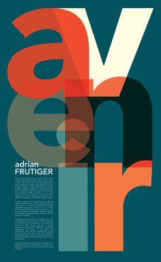 Avenir Poster by Justine Rudnicki