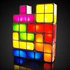 Tetris Lights #tech #flow #gadget #gift #ideas #cool